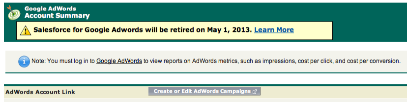 Adwords still Active