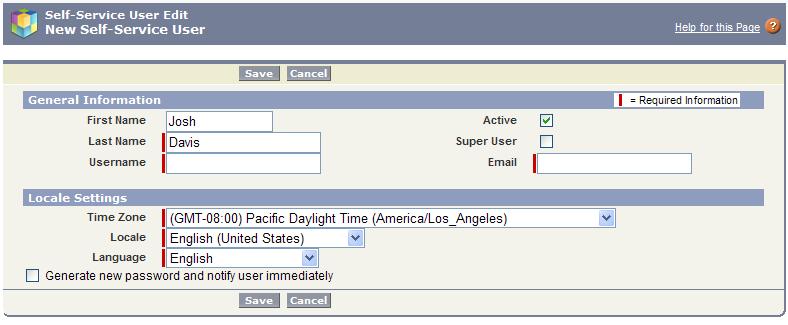 Activate Portal User