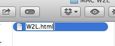 Rename File HTML