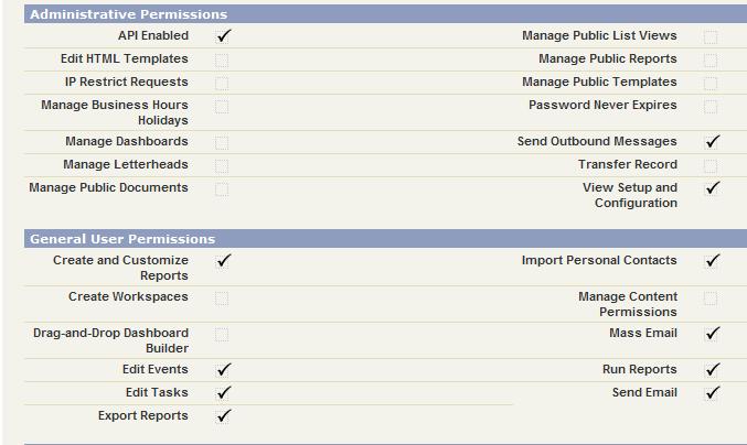 Platform Permissions