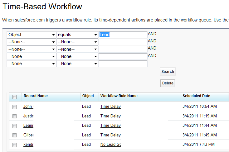Workflow Monitor Delay Workflow