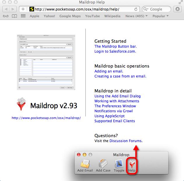 Maildrop Help Online