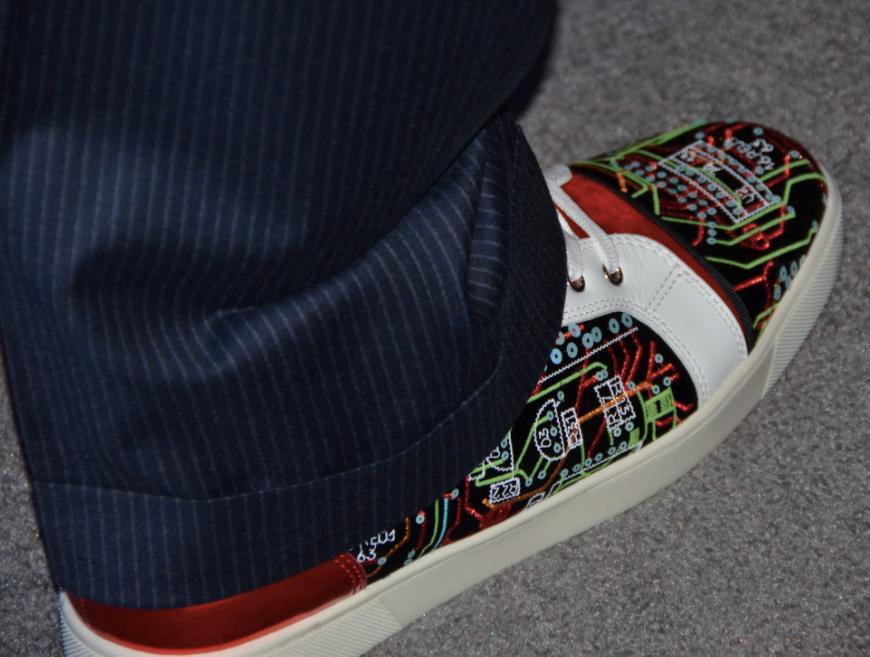 Benioff's Right Shoe
