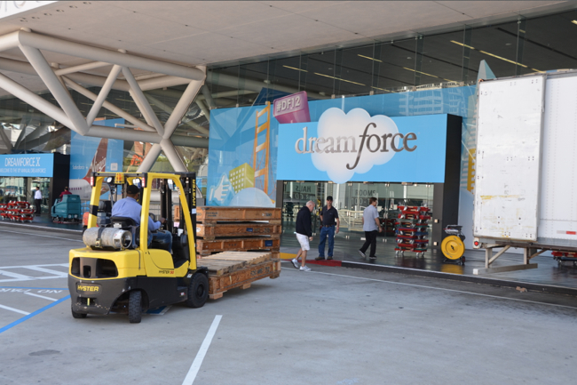 Setting up Dreamforce 12 pic 1