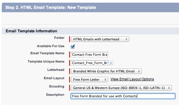 create html email template online - create a salesforce html email template with merge fields
