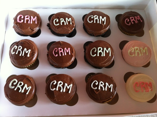 CRM Cup Cakes