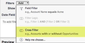 Cross Filters
