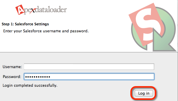 Login Data Loader