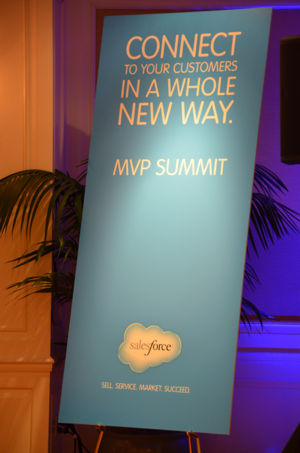 MVP Summit Sign Portrait