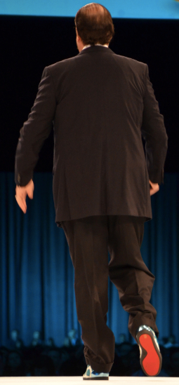 Benioff Dreamforce 13 Red Soles
