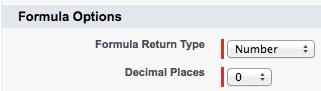 Formula Return Type