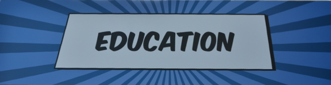 Education Banner Admin Zone DF14