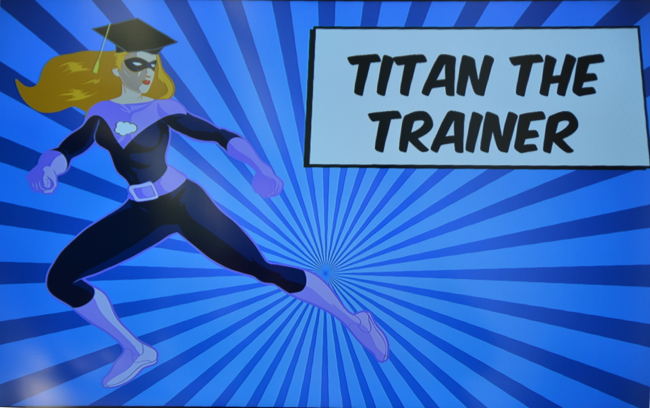 Titan the Trainer Admin Zone DF 14