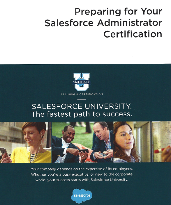 CRT101 Salesforce Student Guide Cover