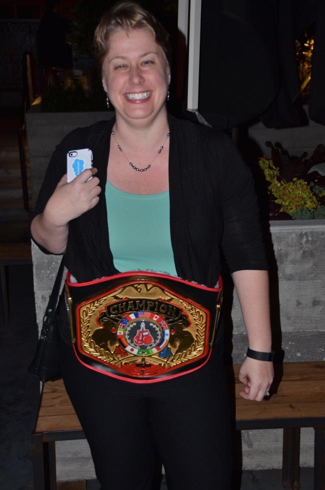 Amber Boaz Champion