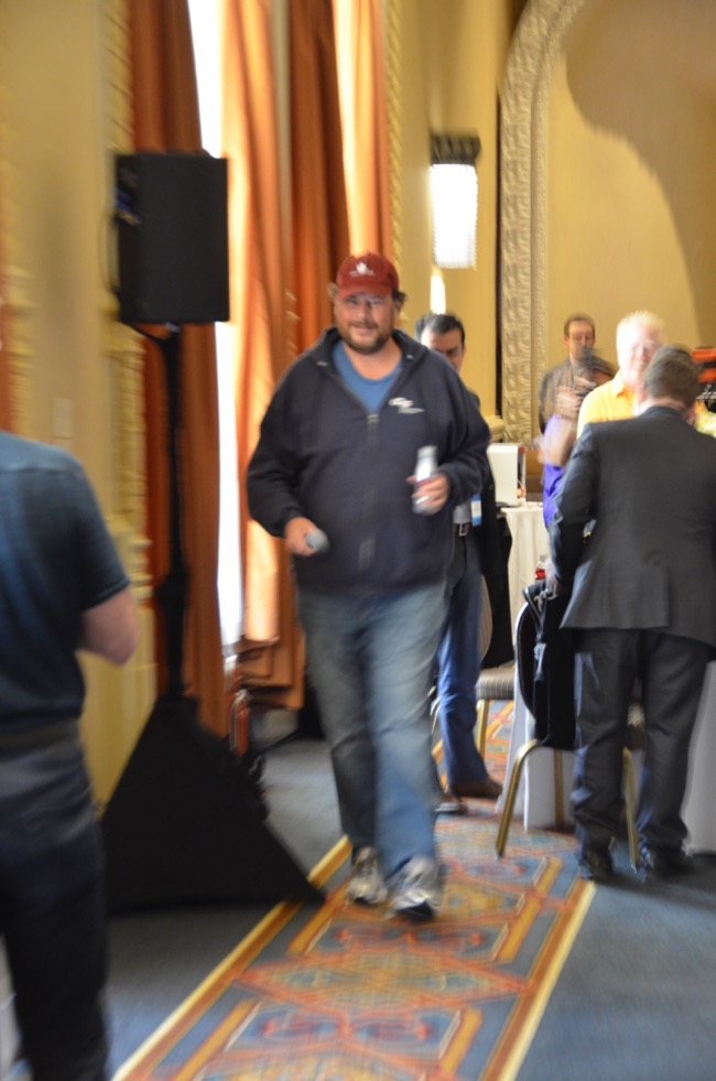 Marc Beniof Arrives MVP Summit