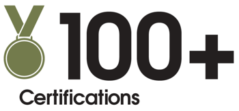100 ShellBlack Certifications