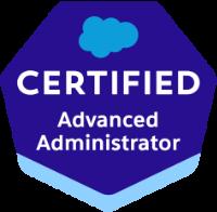 Advanced Administrator Certification