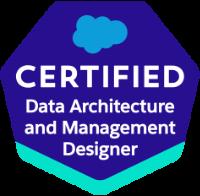 Data Architecture and Management Designer Certification
