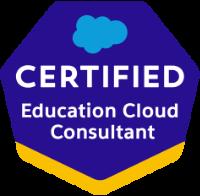 Education Cloud Consultant Certification