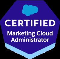 Marketing Cloud Administrator Certification
