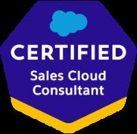 Sales Cloud Consultant Certification